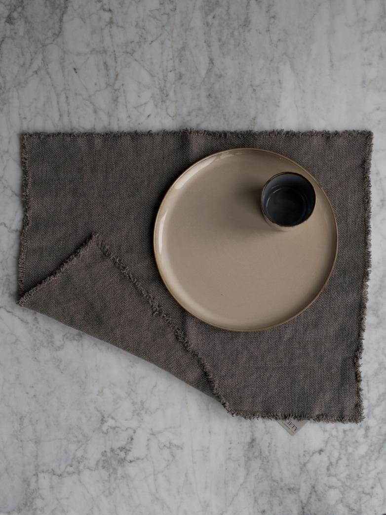 Maya Placemat 40x50cm 87 Fumo