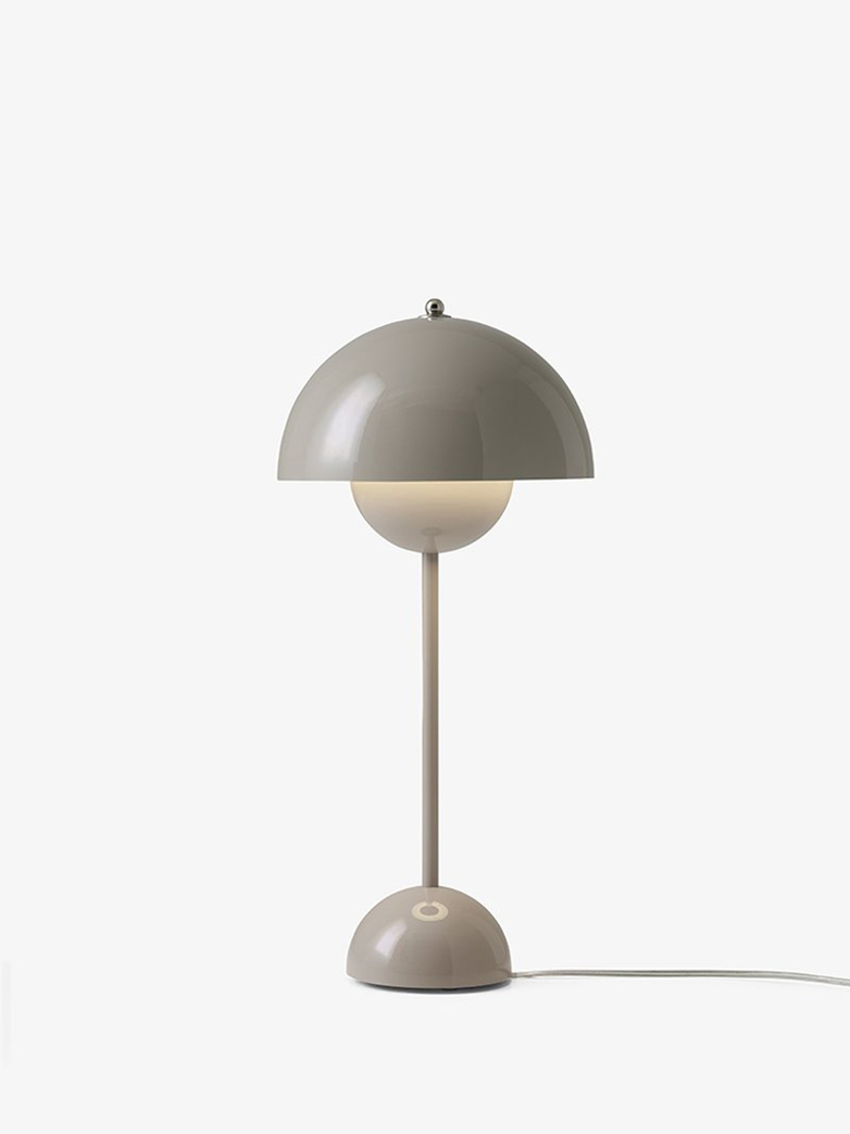 Flowerpot VP3 Table Lamp – Grey Beige