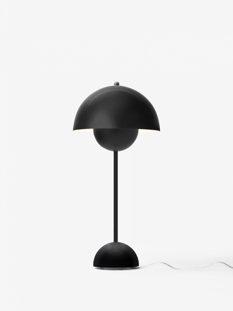 Flowerpot VP3 Table Lamp – Matt Black