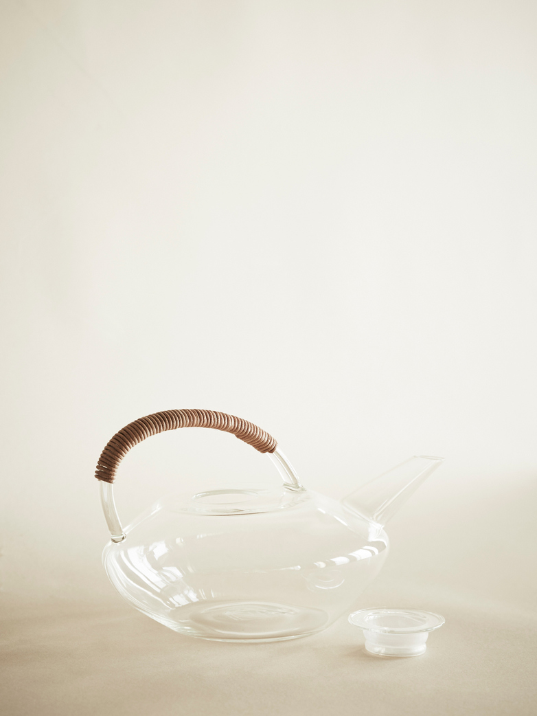 IKIGAI Glass Tea Holder