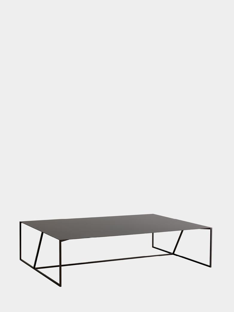 Oblique Steel Sofa Table – 118 x 118 cm