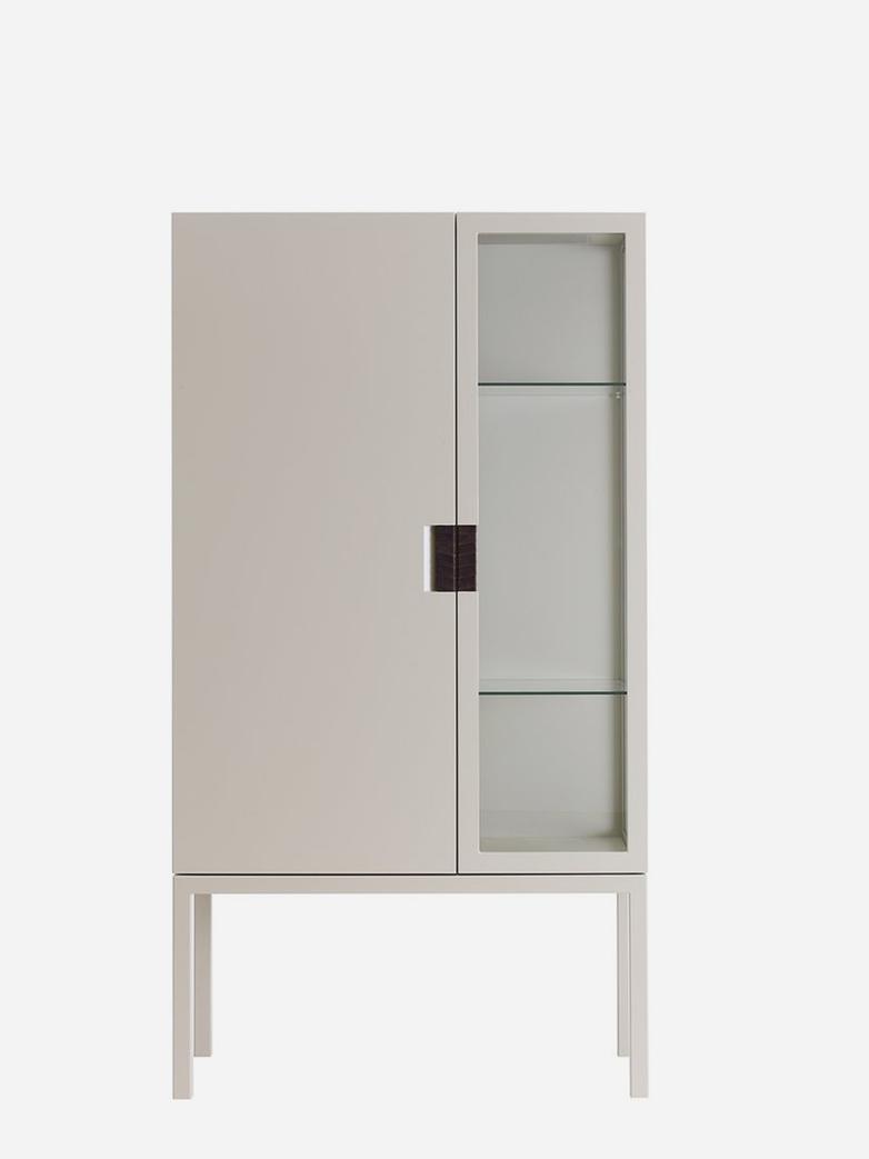 Frame Semi Cabinet – Dark Sand
