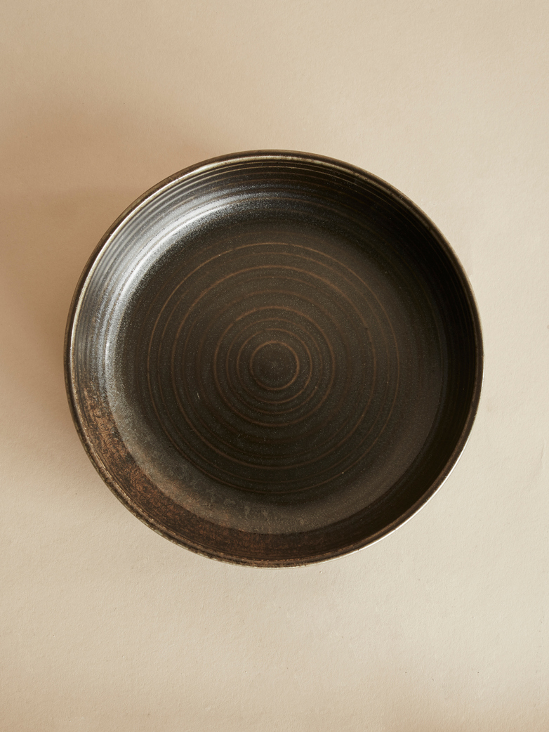Kyoto Deep Plate - Black