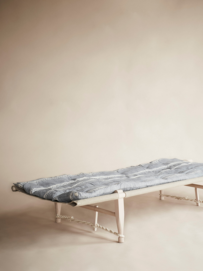 Safari Mattress – Grey Tie & Dye