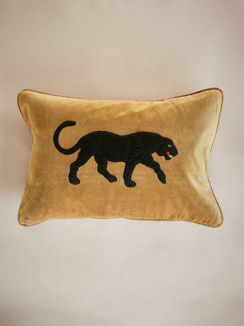 Chhatwal & Jonsson – Black Panther – Masala Yellow – 40 x 60