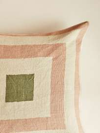 Shillong – Rose/Light Beige/Cactus Green – 50 x 50