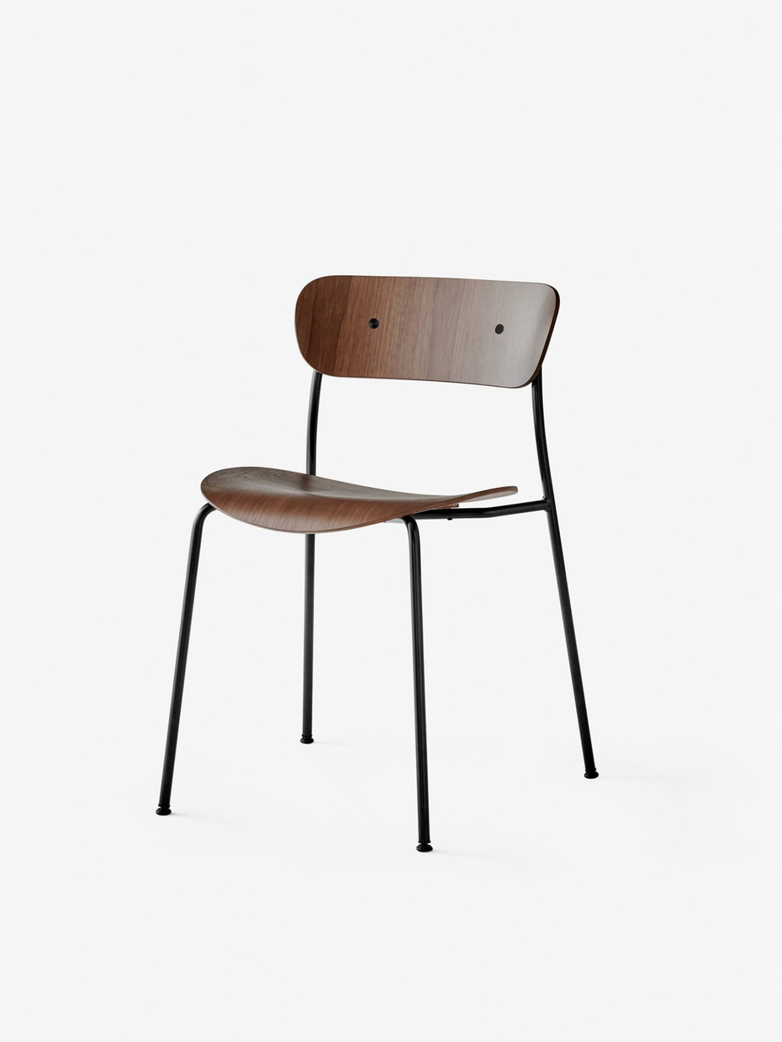 Pavilion Chair – Lacquered Walnut