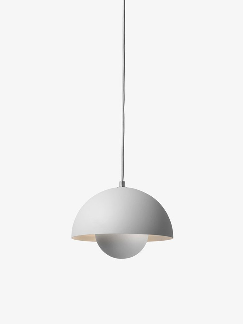 Flowerpot Pendant VP1 – Matt Light Grey