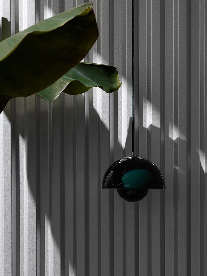 Flowerpot Pendant VP1 – Matt Black