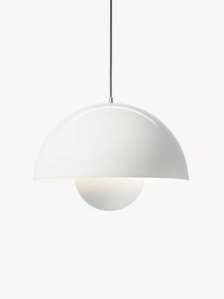 Flowerpot Pendant VP2 – White
