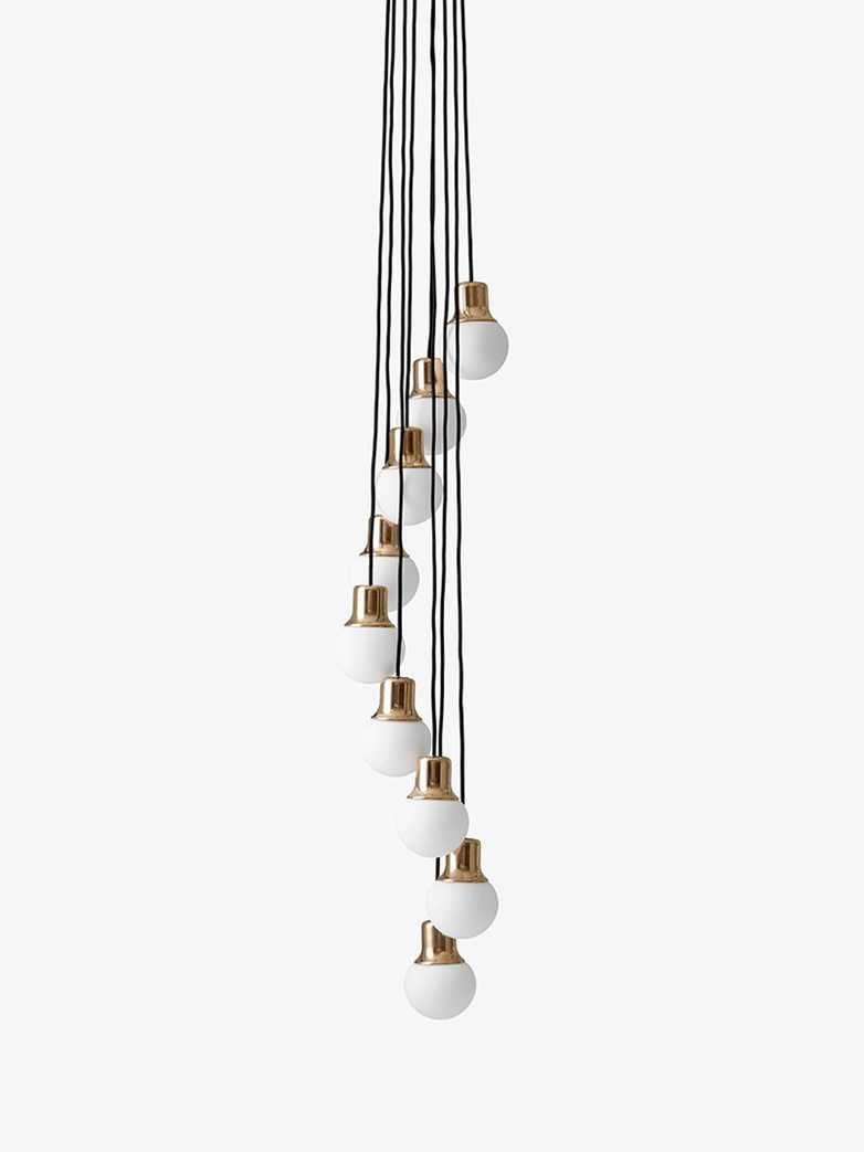 Mass Light Chandelier NA6 – Brass