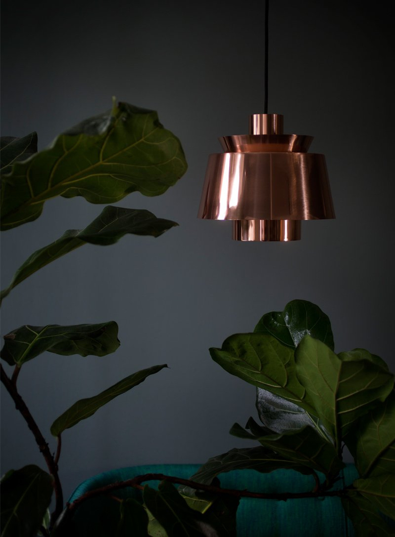 Utzon Pendant – Polished Copper