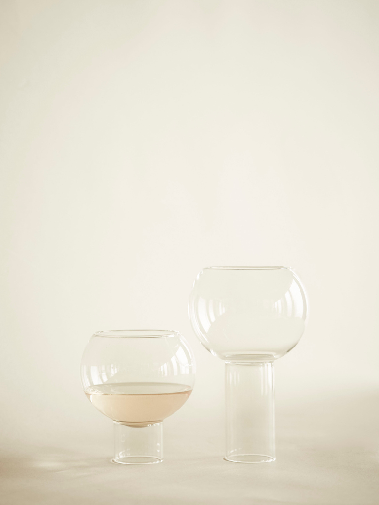 Tulip Low Glass Set of 2