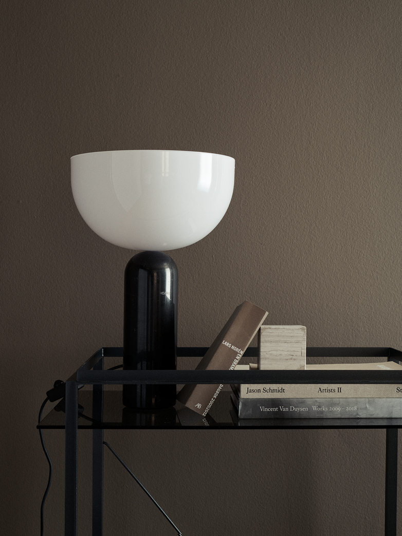 Kizu Table Lamp - Black Marble - Small