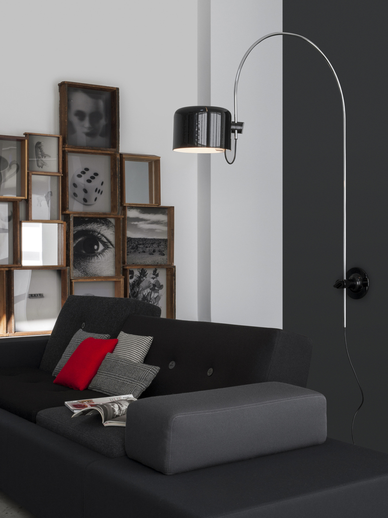 Coupé Wall Lamp 1158 – Black