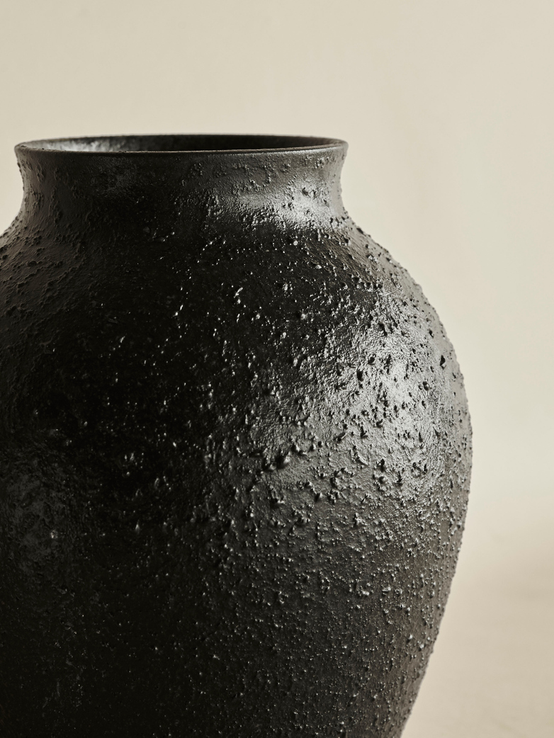 Arkona Vase – Antracite Grey – Large