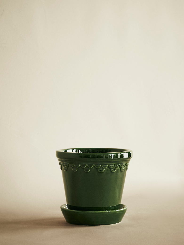 Copenhagen Pot – Green Emerald – 14 cm