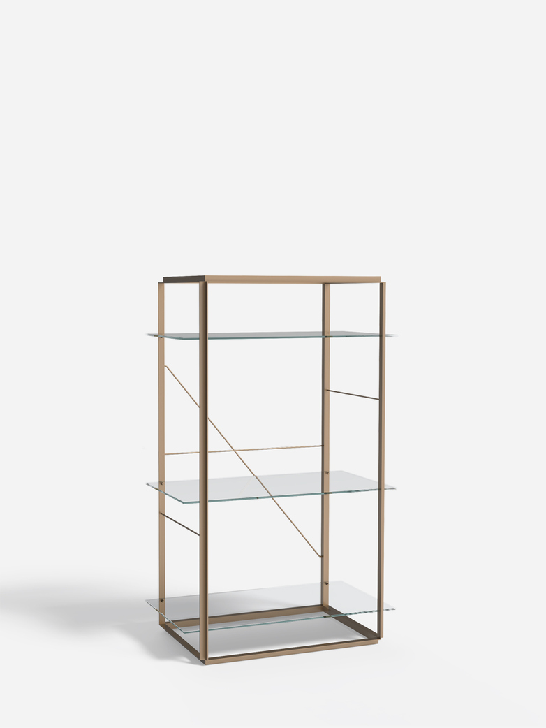 Florence Shelf – Raw Gold – Medium
