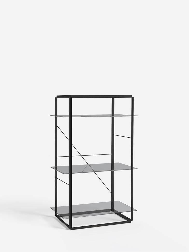 Florence Shelf – Black – Medium