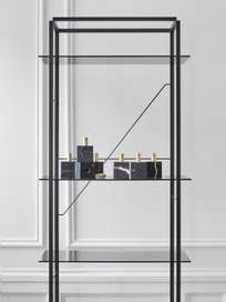Florence Shelf – Black – Medium