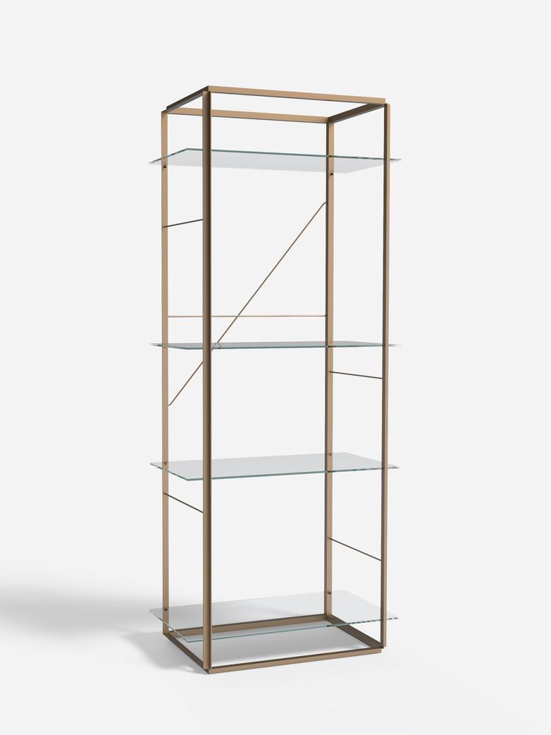 Florence Shelf – Raw Gold – Large