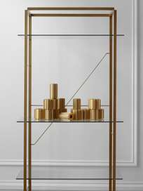 Florence Shelf – Raw Gold – Large