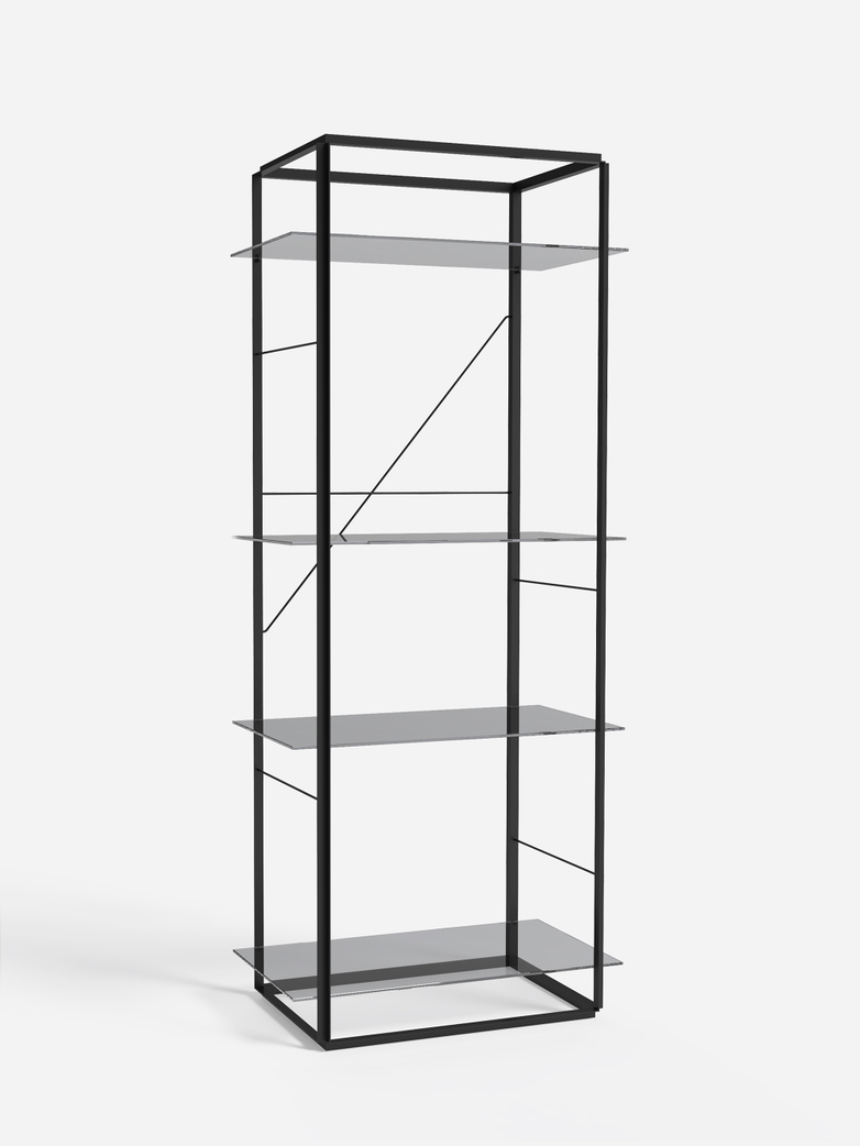 Florence Shelf – Black – Large