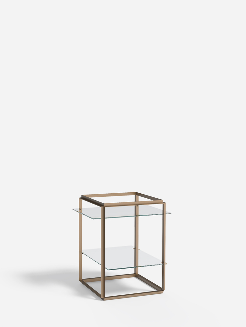 Florence Side Table – Raw Gold