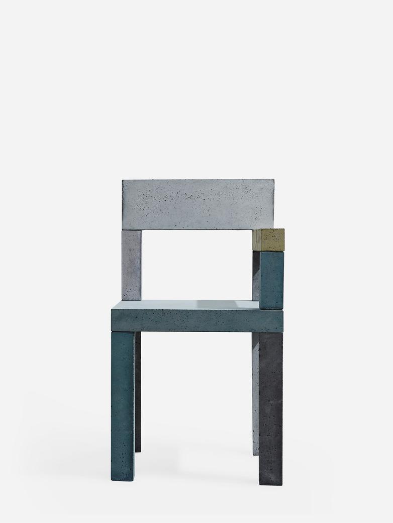 Untitled Concrete Chair