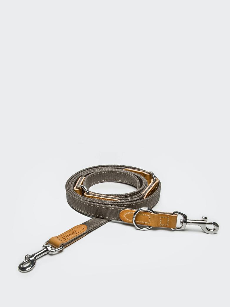Leash Tivoli - Canvas/Leather - Greige