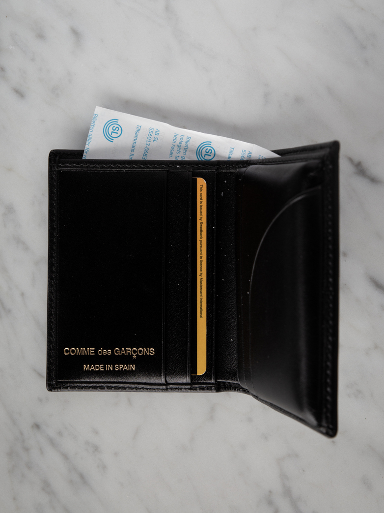 Classic Card Wallet Black