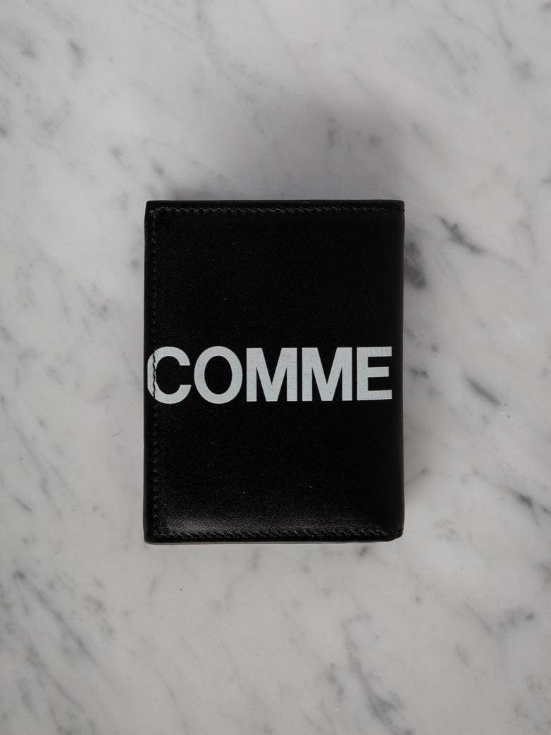 Wallet SA0641 - Huge Logo - Black