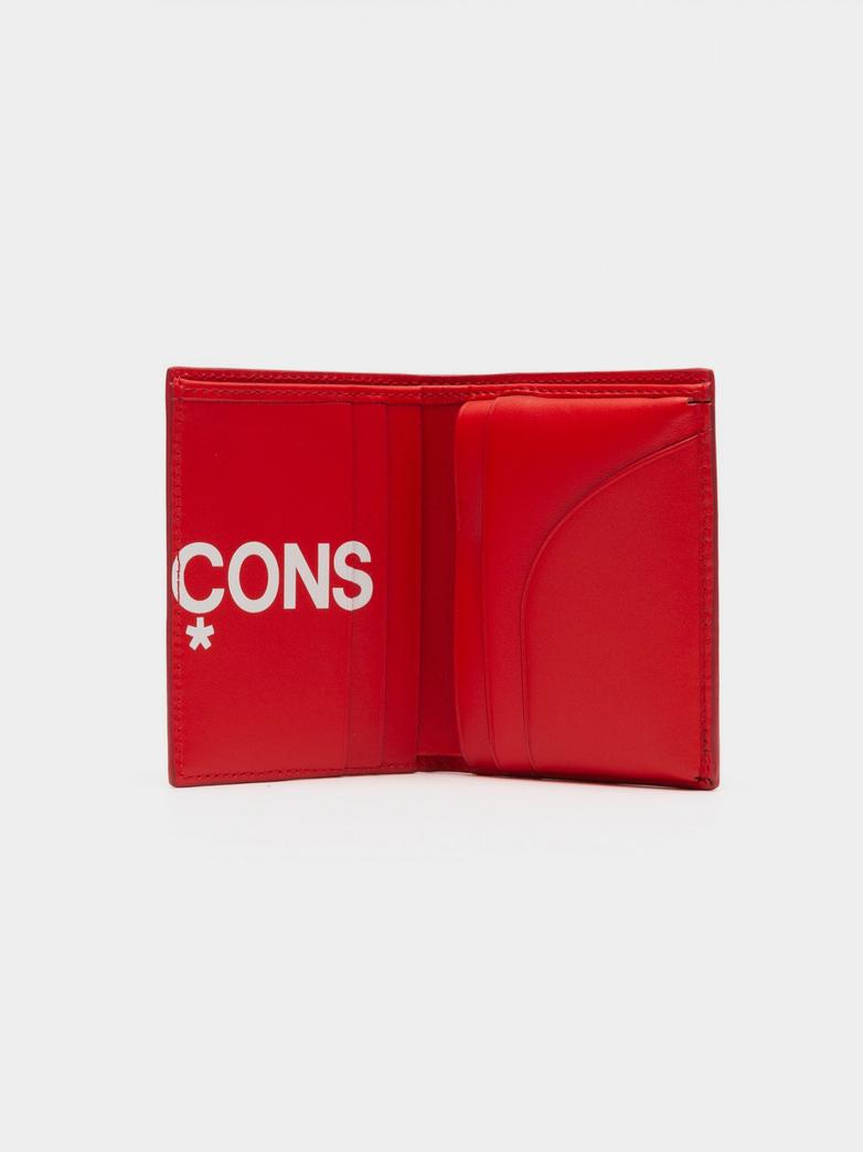 Wallet SA0641 - Huge Logo - Red