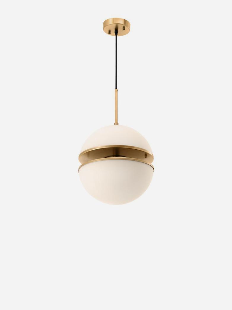 Spiridon Hanging Lamp – Antique Brass