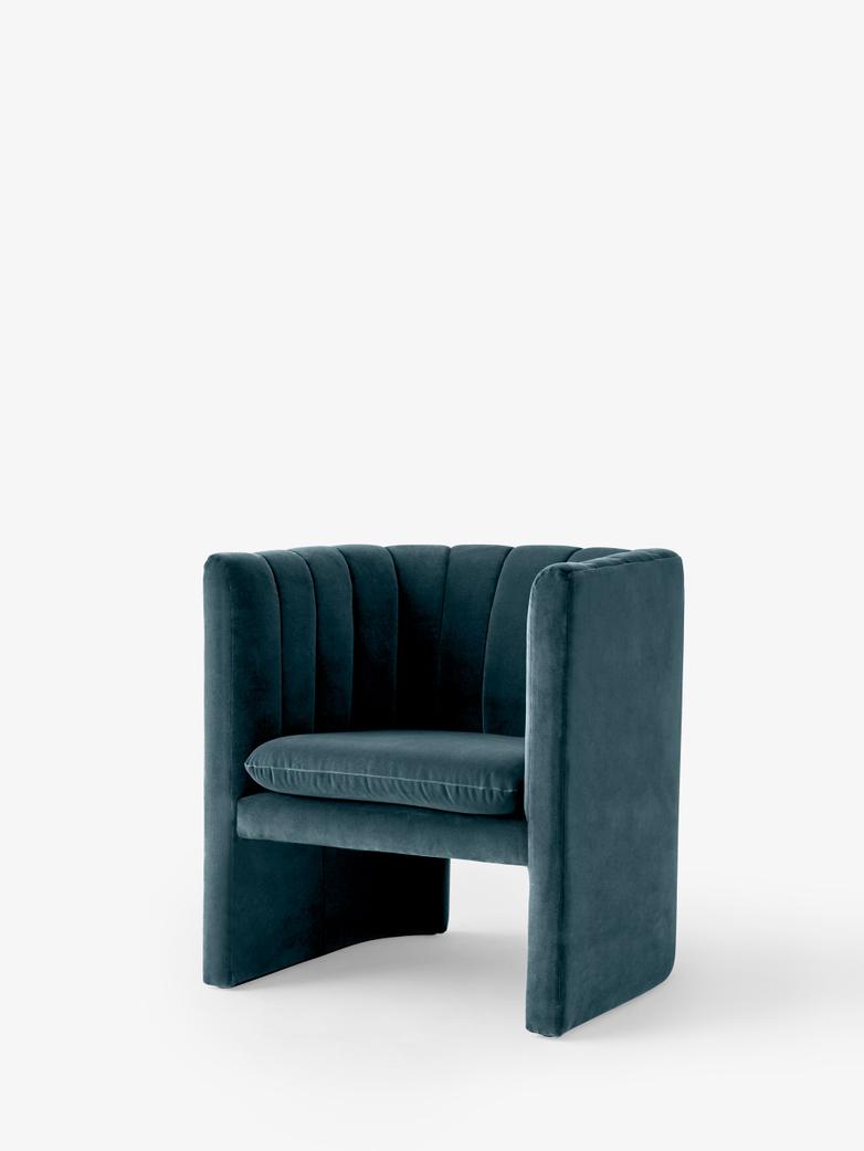 Loafer Lounge Chair - SC23 - Velvet Twilight
