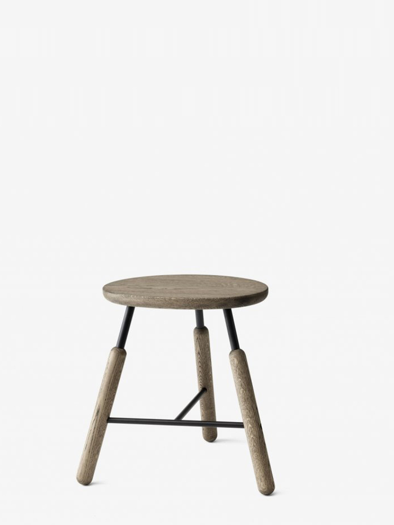 Stool NA3 – Smoked Oiled Oak