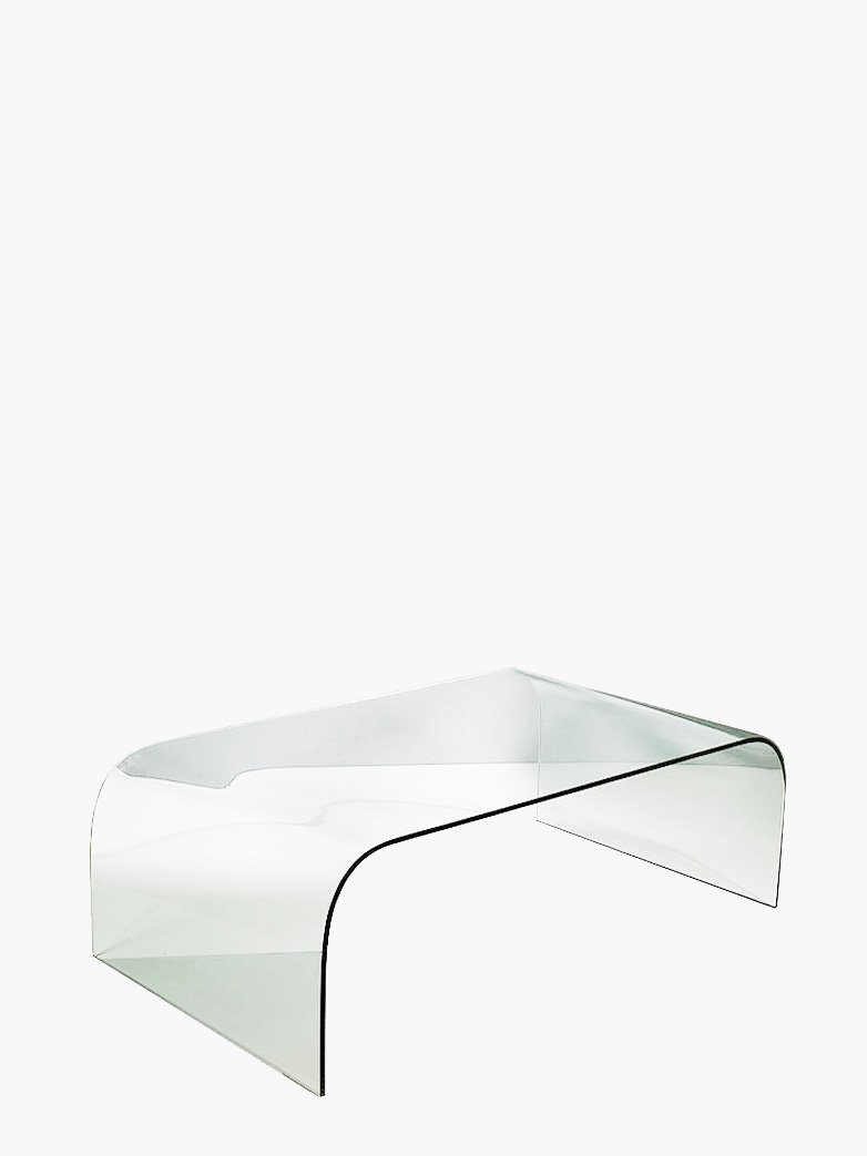 Concave Coffee Table – Glass