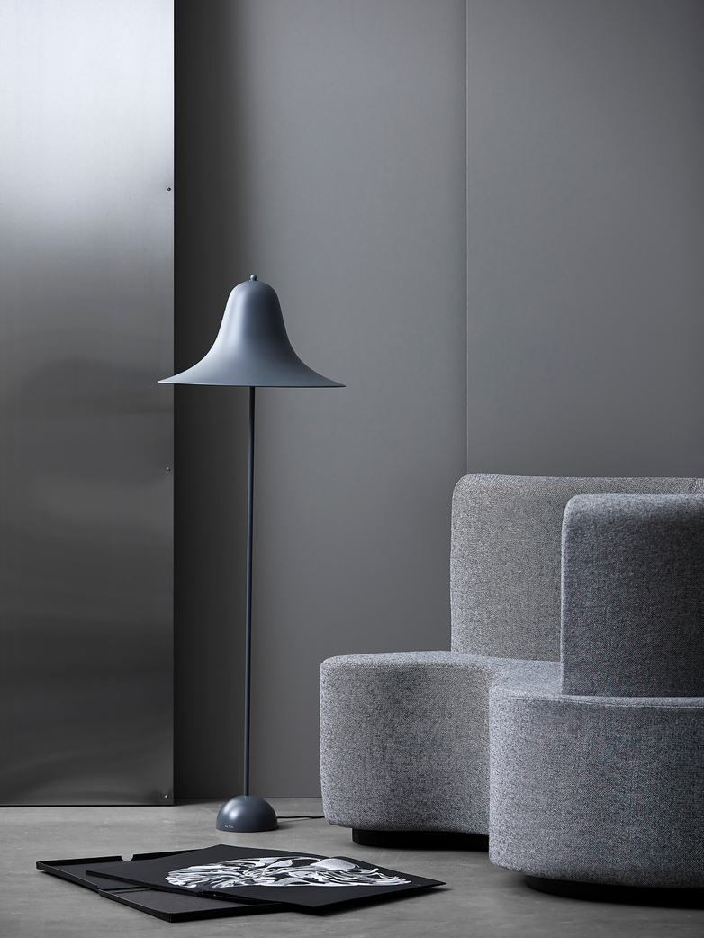 Pantop Floor Lamp – Grey