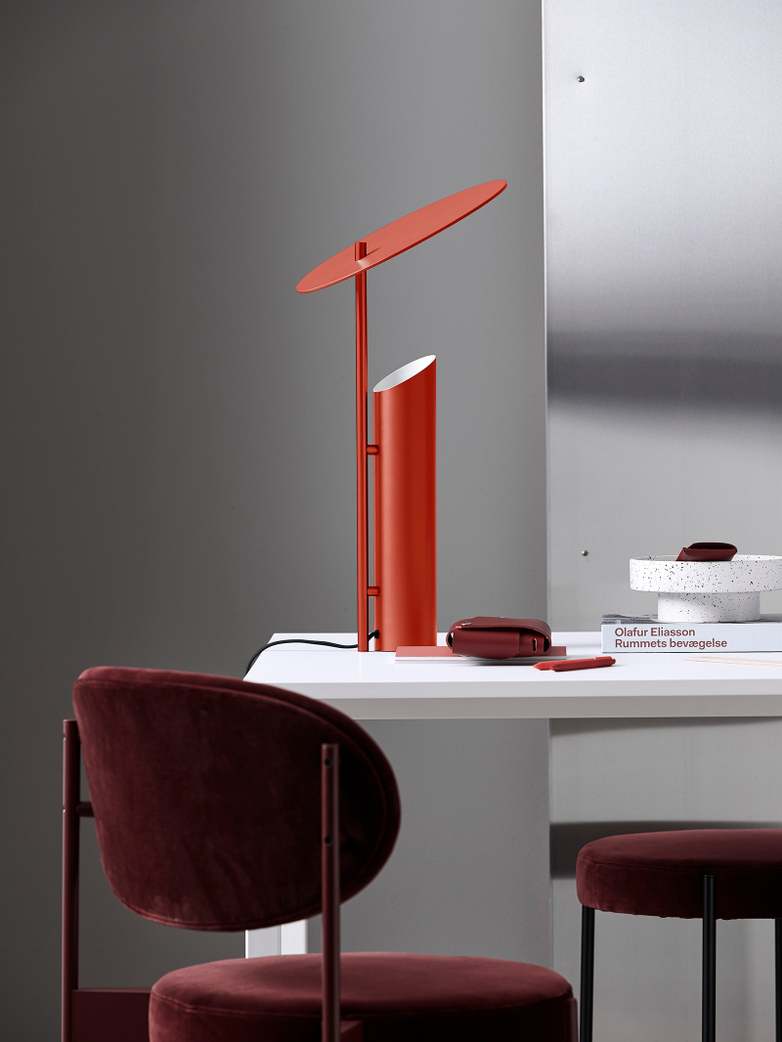 Reflect Table Lamp – Red