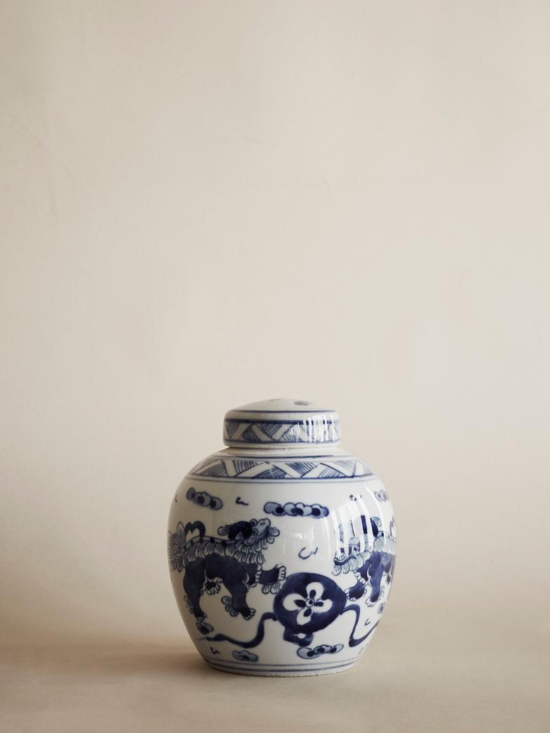 Oriental Round Flower Pot