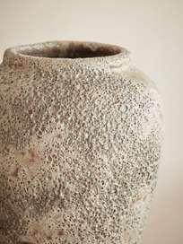 Round Neck Vase – Green Oxide – Ø20