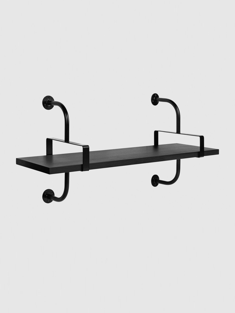 Démon Shelf – Black Stained Ash – 1 Shelf