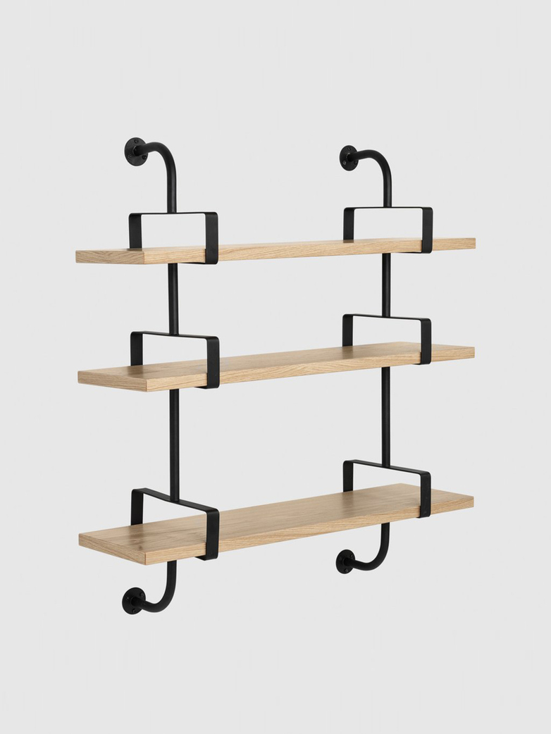 Démon Shelf – Oak – 3 Shelves