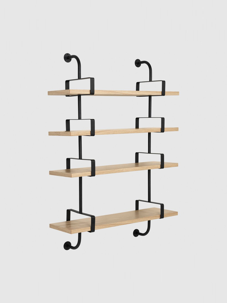 Démon Shelf – Oak – 4 Shelves