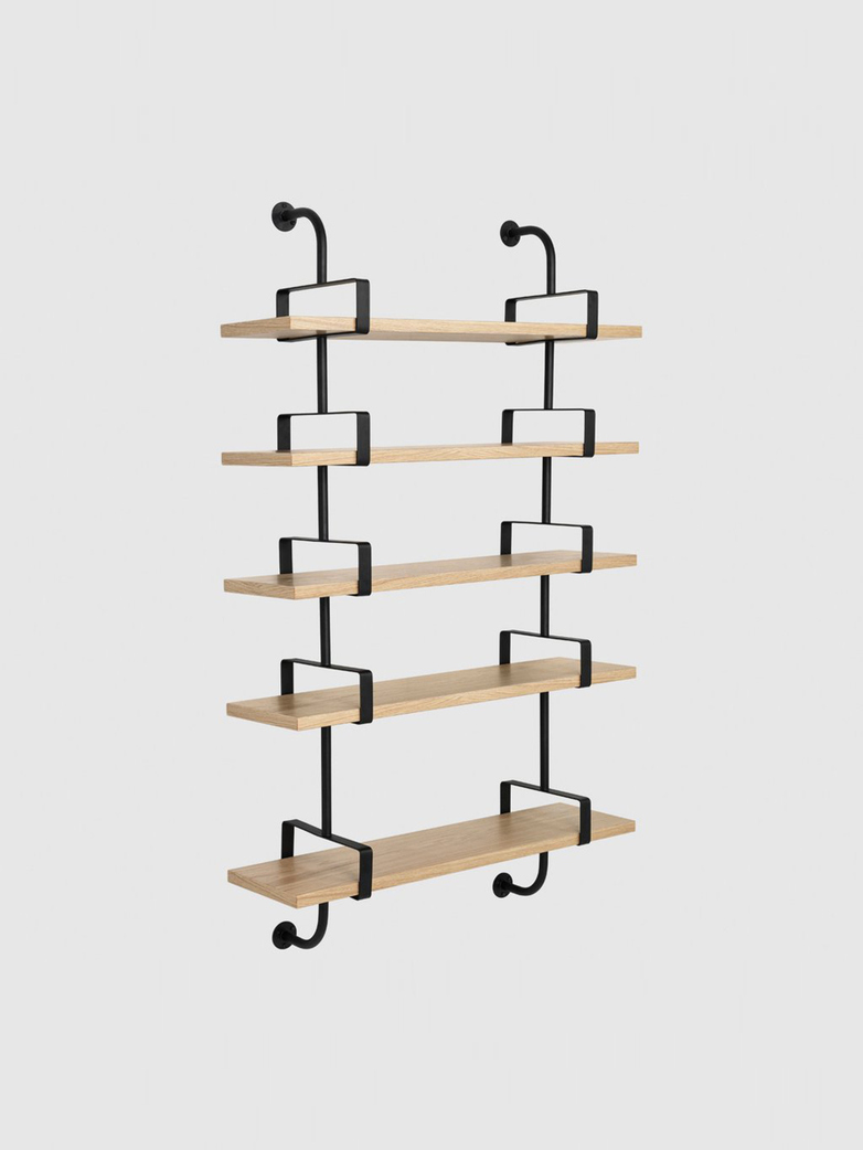 Démon Shelf – Oak – 5 Shelves