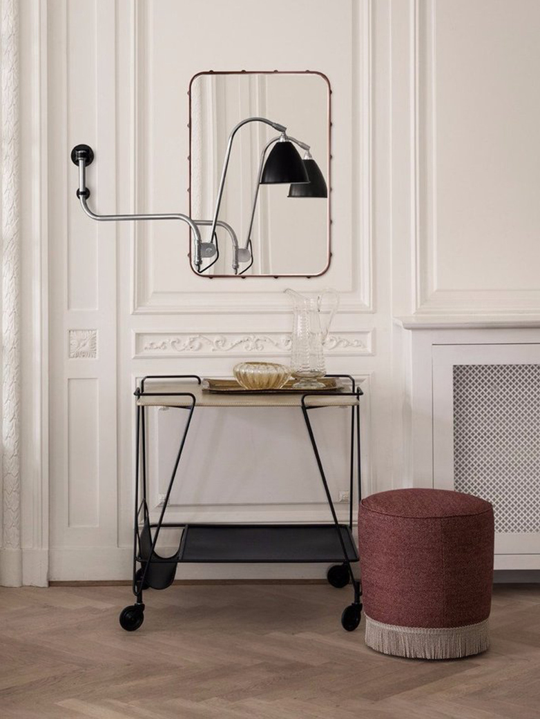Matégot Trolley – Smoke Green Semi Matt