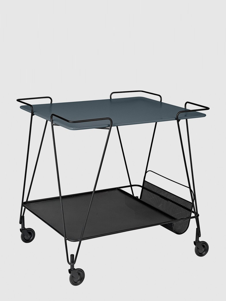 Matégot Trolley – Stone Grey Semi Matt