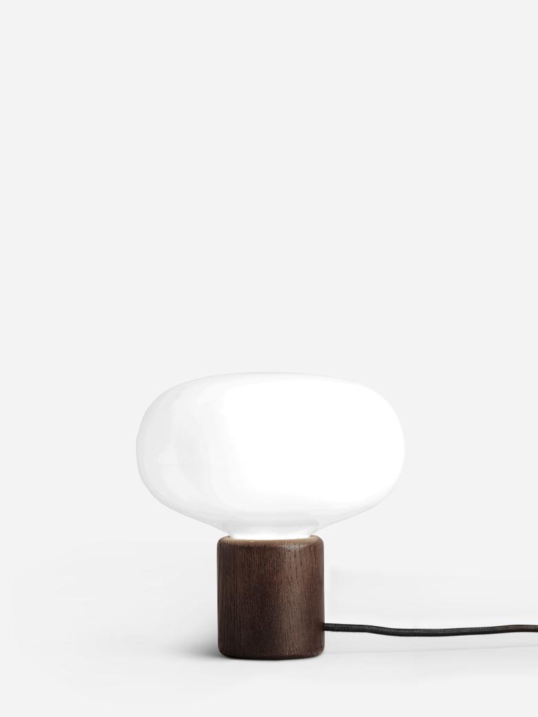 Karl-Johan Table Lamp – Smoked Oak