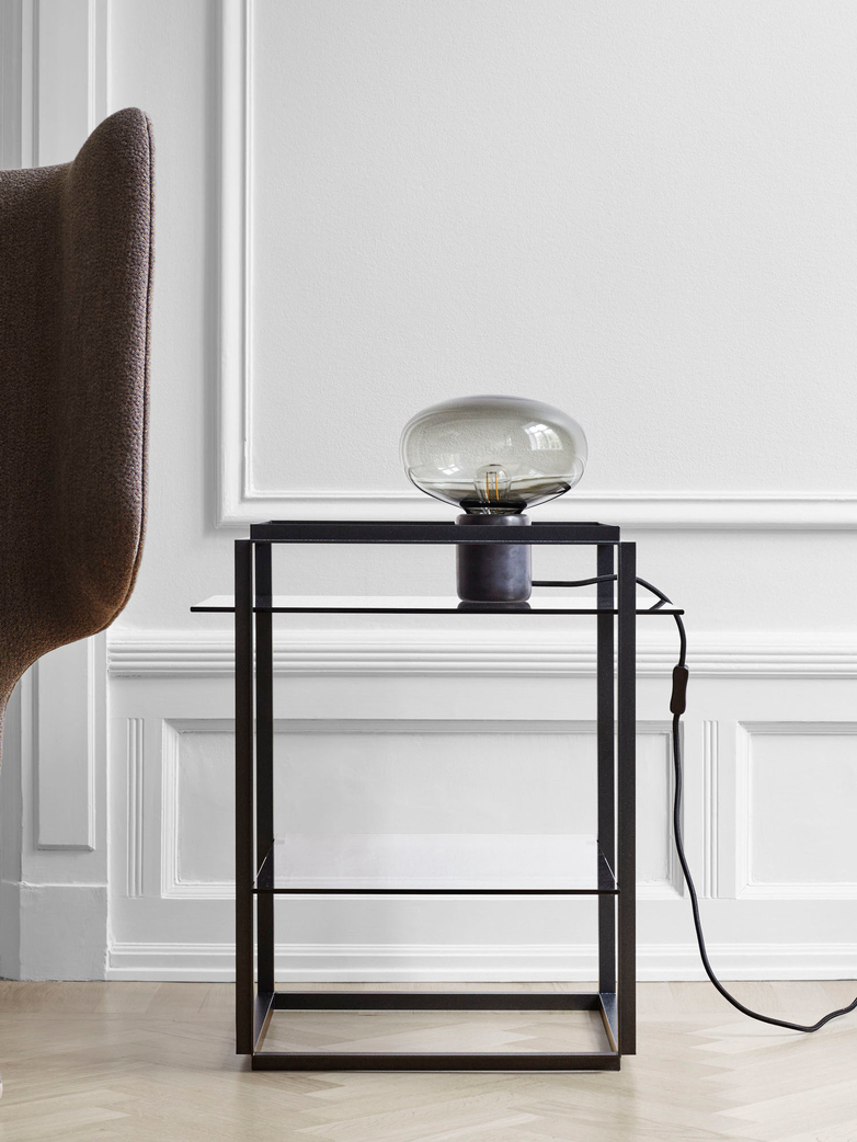 Karl-Johan Table Lamp – Black Marquina