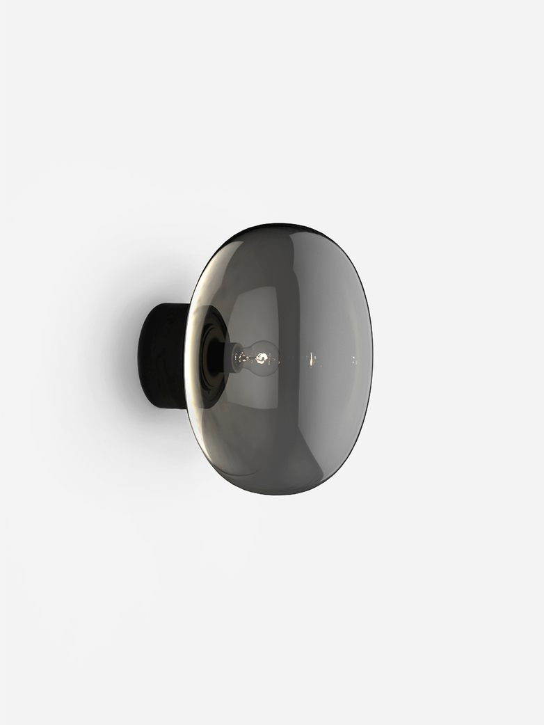 Karl-Johan Wall Lamp – Black Stained Oak